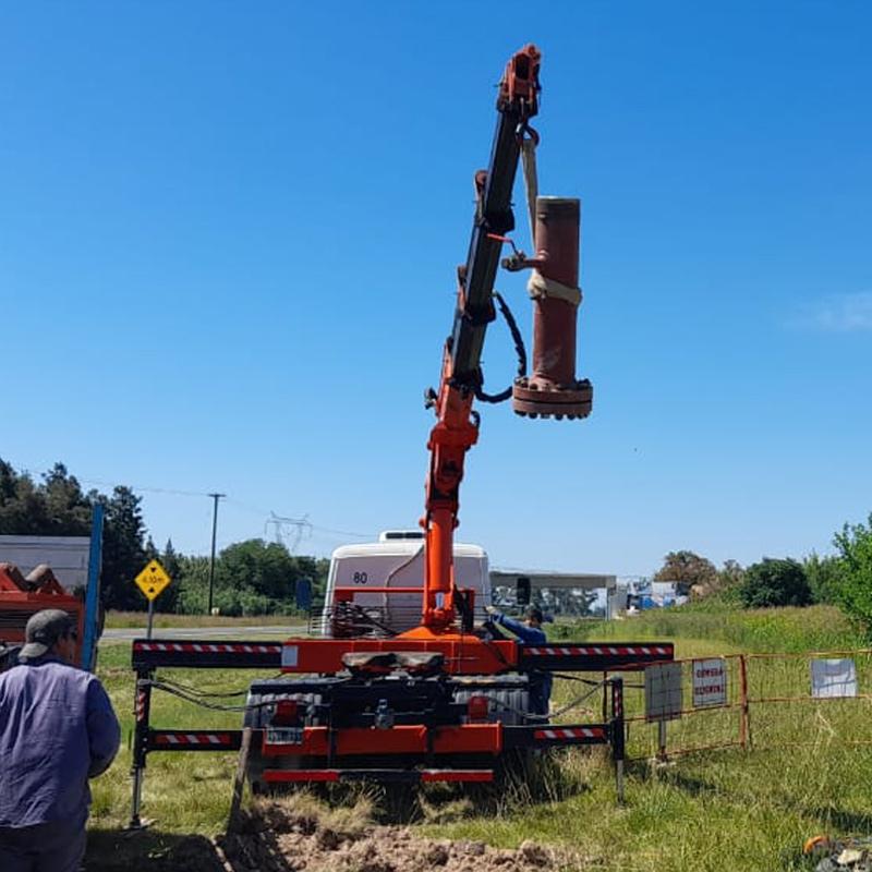 Gasoducto Estacion Alvear II